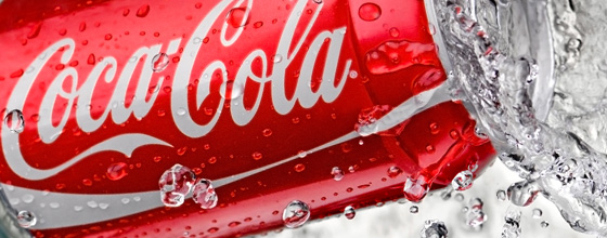 Продуктова фотография – Кока Кола.