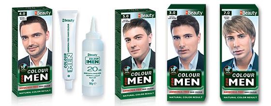 """Фотосесия за фирма """"Solvex cosmetic products"""". Боя за коса за мъже """"MM Beauty""""."""